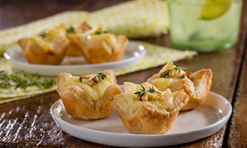 Pepperidge Farm Puff Pastry Brie and Walnut Tartlets