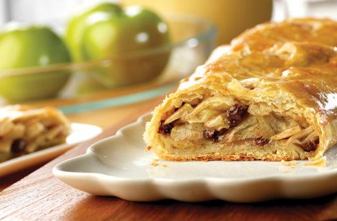 Puff Pastry Apple Strudel