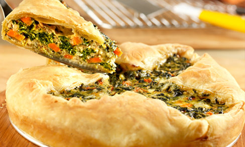 Rustic Spinach Pie